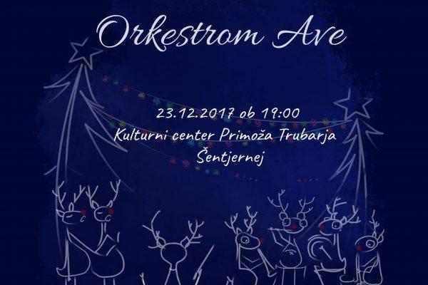 Božični koncert z Orkestrom Ave